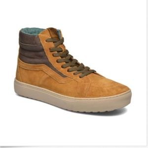 dd7143a0aa Vans Shoes - Vans Sk8 Hi MTE Cup Cathay Hummus Leather Boots